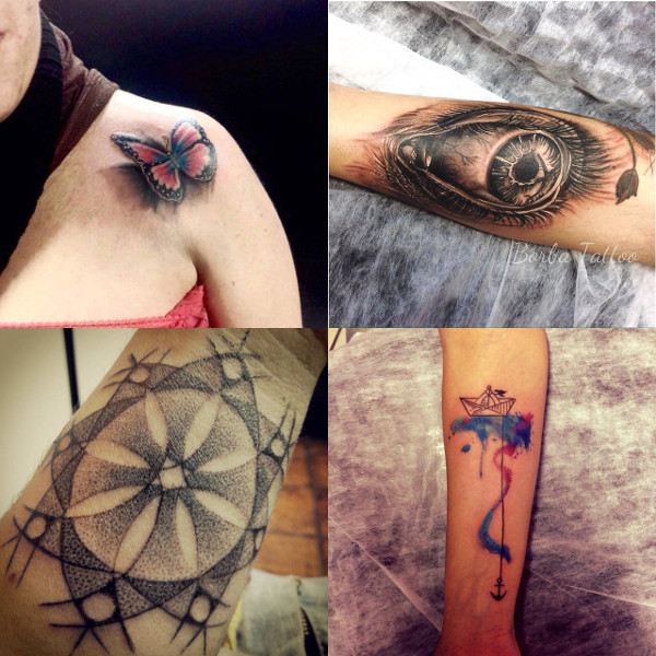 algumas das tattoos do Borba Tattoo publicadas no MdT