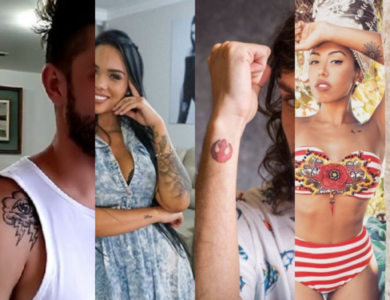 As tattoos do BBB 17