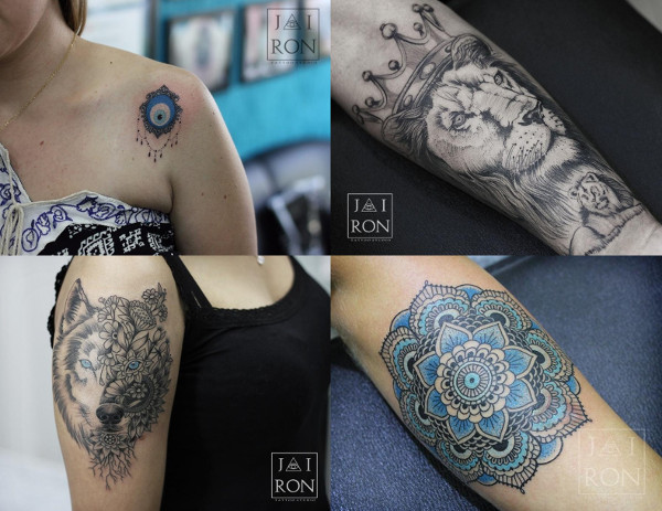 algumas das tatuagens do Jairon Tattoo Studio Tattoo publicadas no MdT